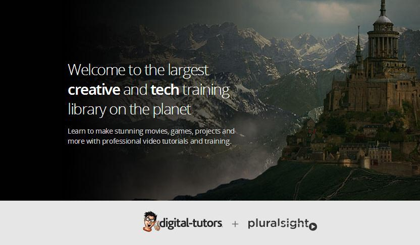 Digital Tutors new partnership brings many new courses