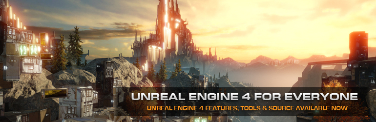 Unreal Engine 4 now available for $19/month (+5%)
