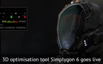 Simplygon release V6 of their 3D optimisation software